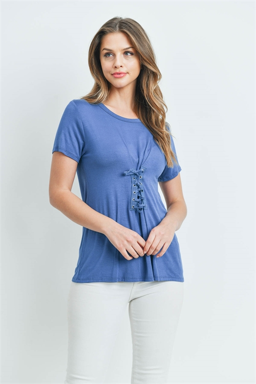 C28-A-2-T2212 DENIM BLUE TOP 1-2-2-1