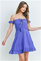 SA3-7-4-D20108 COBALT BLUE DRESS 3-2-1