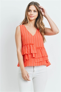 S7-2-4-T0072 CORAL WHITE TOP 3-2-1