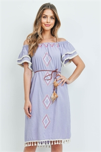 S9-14-4-D2181 LAVENDER DRESS 2-2-2