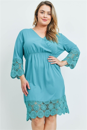 S16-9-4-D20459X JADE PLUS SIZE DRESS 2-2-2
