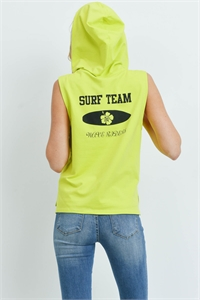 S14-3-4-T214 - YELLOW LIME TOP 1-2-2-2-1