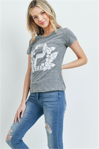 S16-8-5-T1052 - CHARCOAL PRINT TOP 1-1-1