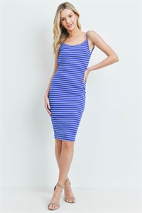 C22-A-3-D5016 ROYAL STRIPES DRESS 2-2-2