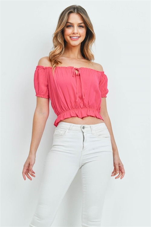C14-A-1T29819 FUCHSIA TOP 1-4-2