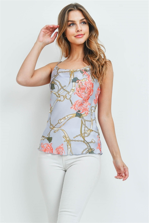 C60-A-1-T30816-A LIGHT BLUE PRINT TOP 1-1-1