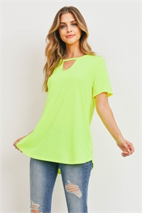 C92-A-1-T2213 NEON YELLOW TOP 1-2-2