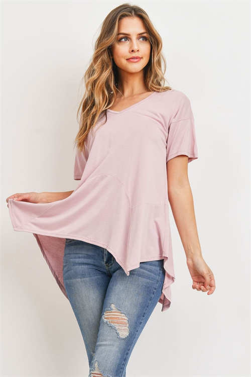 C4-A-3-T71747 DUSTY PINK TOP 2-2-2