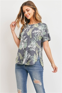 C56-B-1-T71466 GRAY OLIVE TOP 2-2-2
