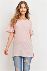 C92-A-3-D71864 DUSTY PINK TOP 2-2-2