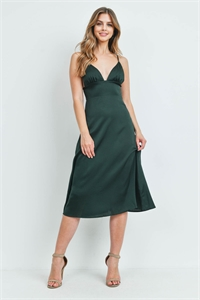S9-17-1-D9012 HUNTER GREEN DRESS 2-2-2