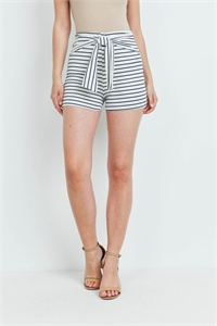 C60-B-1-S14565 WHITE NAVY STRIPES SHORTS 2-2-2
