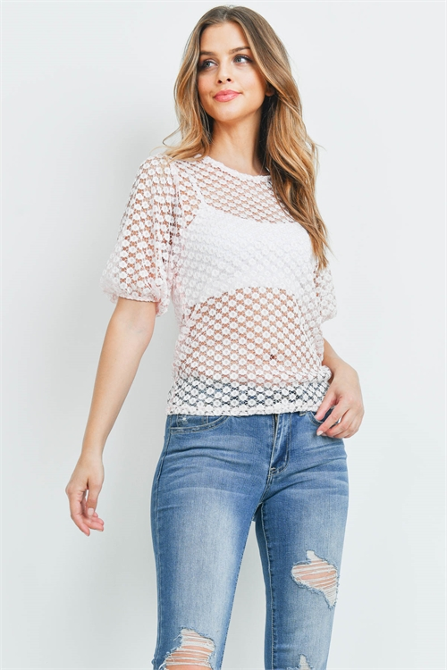 C92-B-1-T701552 PINK TOP 2-2-2