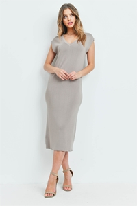 S7-2-2-D00819 TAUPE DRESS 3-2-1