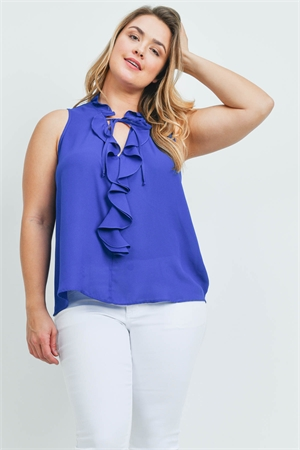 SA4-000-4-T9949X ROYAL PLUS SIZE TOP 2-2-2