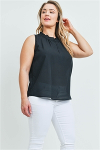S15-9-3-T9569X BLACK PLUS SIZE TOP 2-1-1