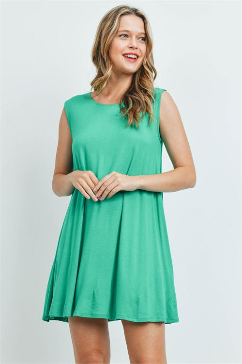 C90-A-1-D8192 LIGHT KELLY GREEN DRESS 1-2-2