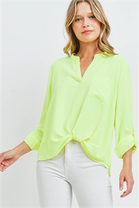 S8-8-3-T3767 NEON YELLOW TOP 2-2-2