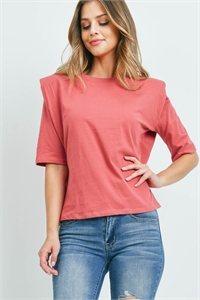 C20-B-2-WT2366 DARK MAUVE TOP 2-2-2