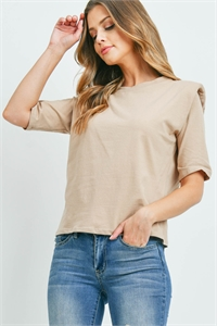 C20-B-2-WT2366 TAUPE TOP 2-2-2