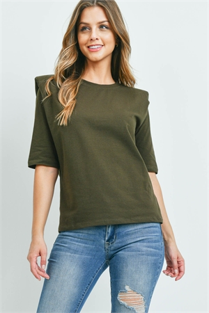 C20-B-3-WT2366 DARK OLIVE TOP 2-2-2