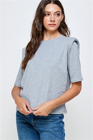C20-B-3-WT2366 GRAY TOP 2-2-2