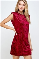 C30-A-2-WD4335 RED VELVET DRESS 2-2-2