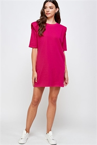 C40-A-2-WD4366 FUCHSIA DRESS 2-2-2