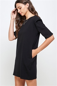 C42-A-1-WD4366 BLACK DRESS 2-2-2