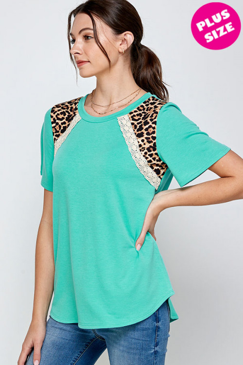 C20-A-3-WT2418X JADE PLUS SIZE TOP 2-2-2
