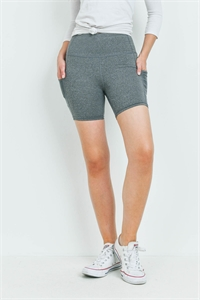 S14-12-4-S7017 HEATHER GRAY SHORT 5-5
