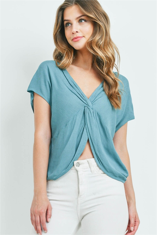 S10-19-1-T12743 TEAL TOP 3-2-2