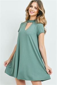 C82-A-3-D9375 LIGHT GREEN DRESS 2-2-2