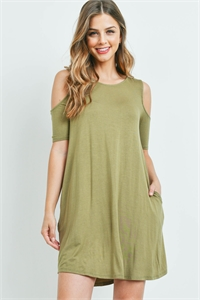 C84-A-2-D7177 LIGHT OLIVE DRESS 2-2-2
