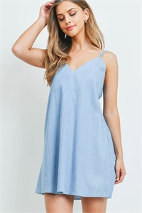 S16-9-2-D431 LIGHT BLUE DENIM DRESS 2-2-2-1
