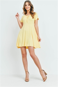C66-A-1-D4148 YELLOW DRESS 2-1-2