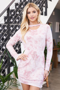 S10-1-2-D50746 BLUSH TIE DYE DRESS 1-2-2-1