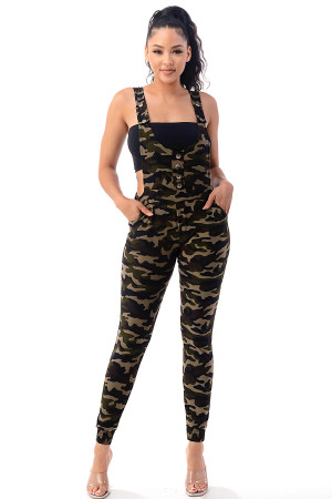 S16-6-3-J1012 GREEN CAMOUFLAGE JUMPSUIT 6-6