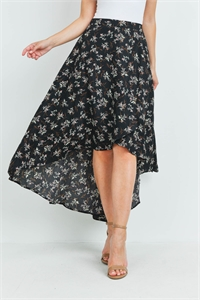 S8-2-4-S3005 BLACK WITH FLOWER SKIRT 3-2-1