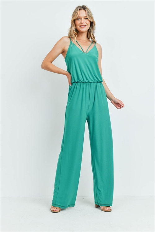 S7-9-1-J1603 KELLY GREEN JUMPSUIT 2-2-2