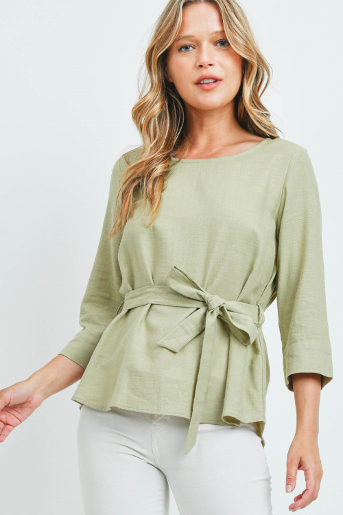 S11-13-2-T90971 LIGHT OLIVE TOP 2-2-2
