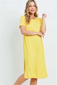 C66-A-1-D4511 YELLOW DRESS 1-2-2