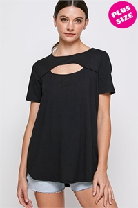 C78-A-1-WT2410X BLACK PLUS SIZE TOP 2-2-2