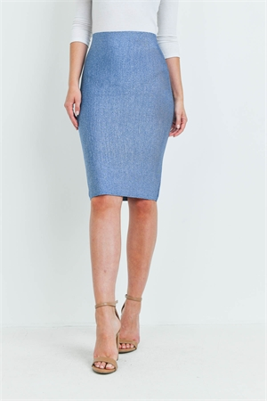 S8-12-1-S602 MEDIIUM DENIM SKIRT 2-2-2