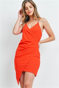 S5-9-2-D950140 TOMATO RED DRESS 2-2-2