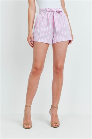 C70-B-3-S14436 PINK STRIPES SHORT 2-2-2