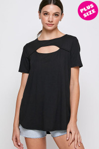 C20-A-1-WT2410X BLACK PLUS SIZE TOP 2-2-1