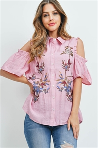 S11-15-5-T7826 DUSTY ROSE TOP 1-2-2