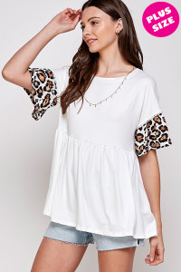 C32-A-1-WT2420X IVORY PLUS SIZE TOP 2-2-2