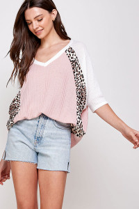 C90-A-1-WT2304 BLUSH TOP 2-2-2